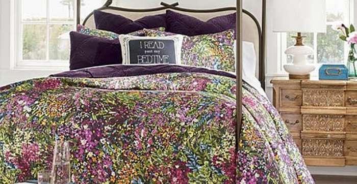 Как купить красивое и недорогое покрывало на кровать?
