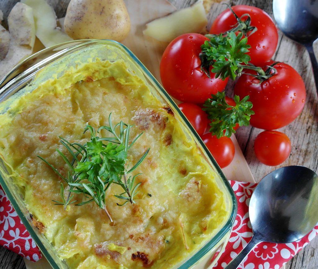 Быстрая запеканка из картофеля и сыра для сытного ужина