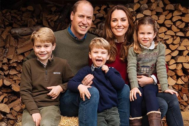 Кейт Миддлтон и принц Уильям поделились новой фотографией подросшего сына