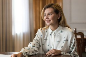 Первая леди Украины показала лицо вблизи