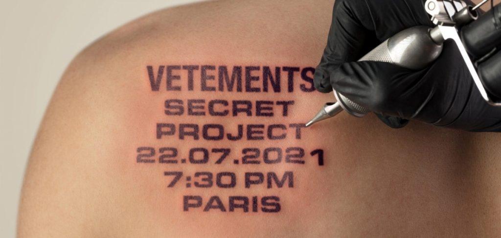 Уже завтра Vetements представят свою загадочную линию