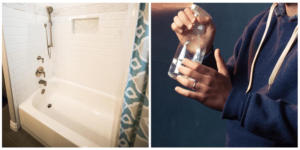 Как быстро и эффективно удалить плесень в доме из 2 подручных средств