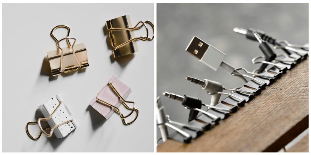 Гениальные лайфхаки с зажимами для бумаги, которые стоит опробовать в быту
