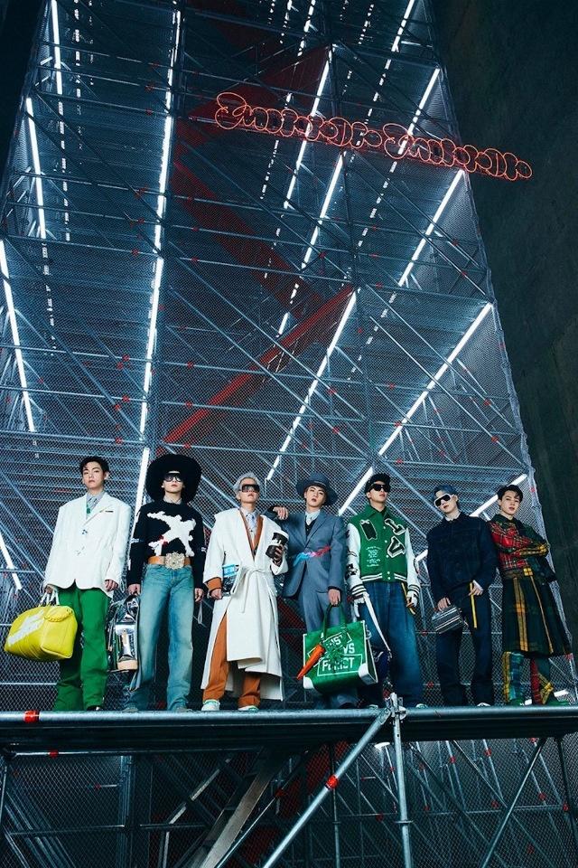 Участники группы BTS стали главными звездами показа от Louis Vuitton