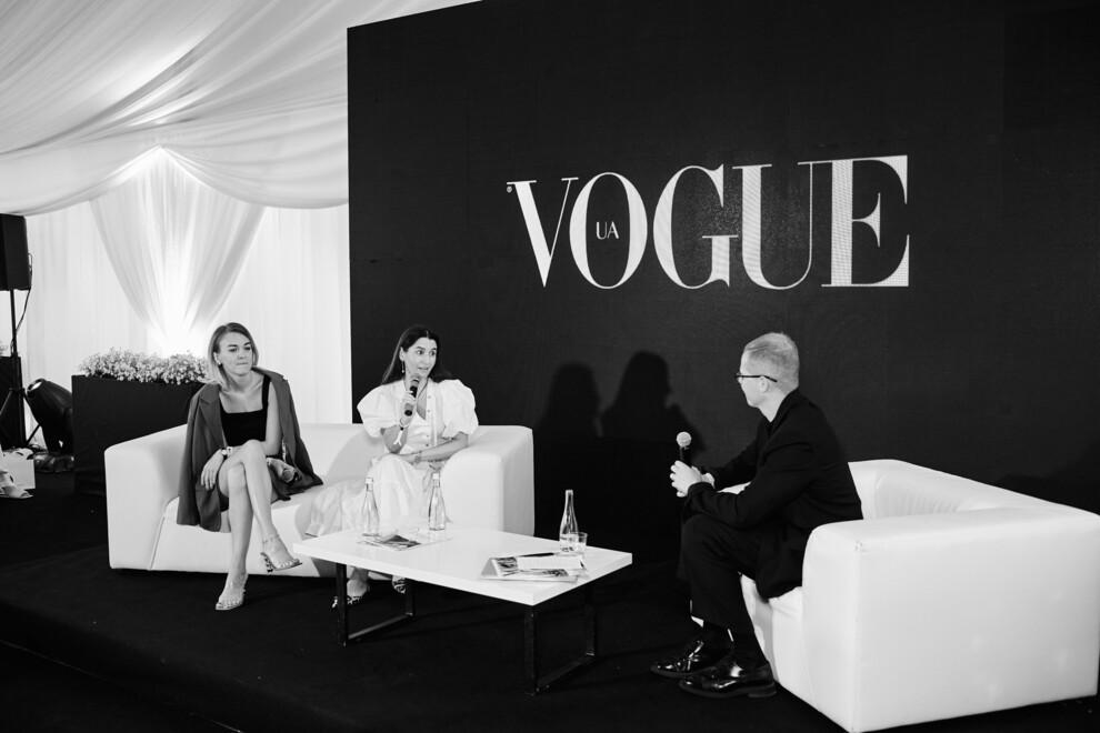 Будущее моды: как прошел традиционный паблик-ток Vogue UA и ЦУМ