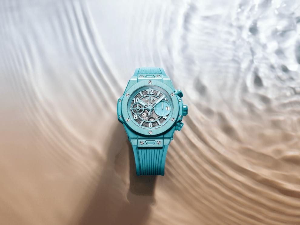Летняя бирюза: какими стали новые часы от бренда Hublot