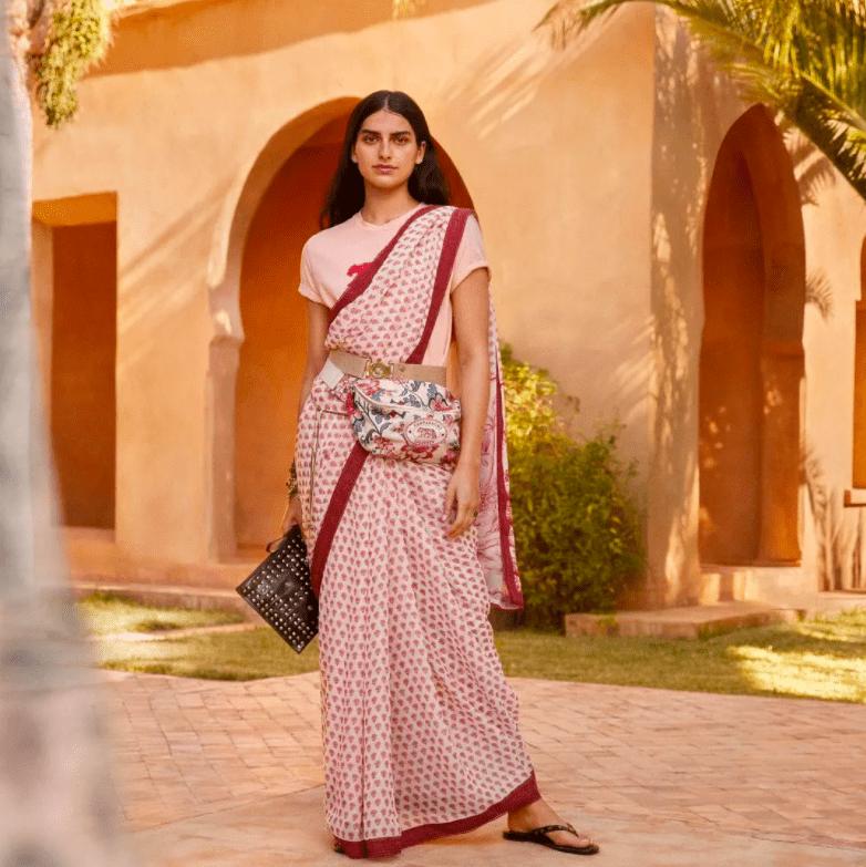 Традиции это тоже модно: H&M впервые выпустит индийские сари