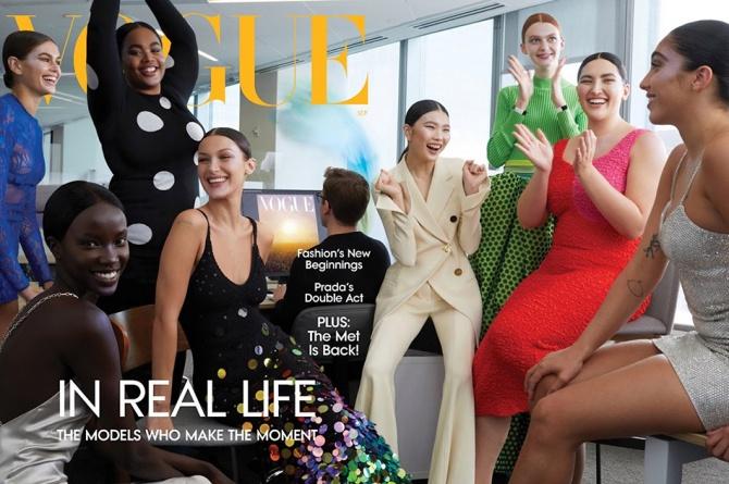 На обложке Vogue впервые появилась трансгендерная модель