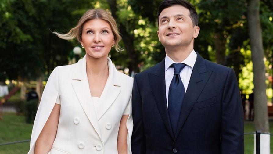 Total black look: новый выход в свет Владимир и Елена Зеленских