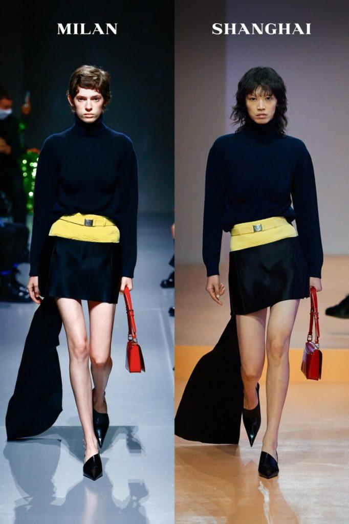 Украинка Кристи Пономар открыла новый показ от бренда Prada