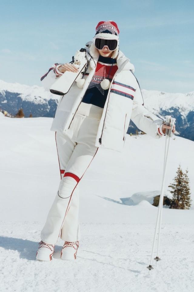 В преддверии холодов Dior показывают капсулу для лыжников
