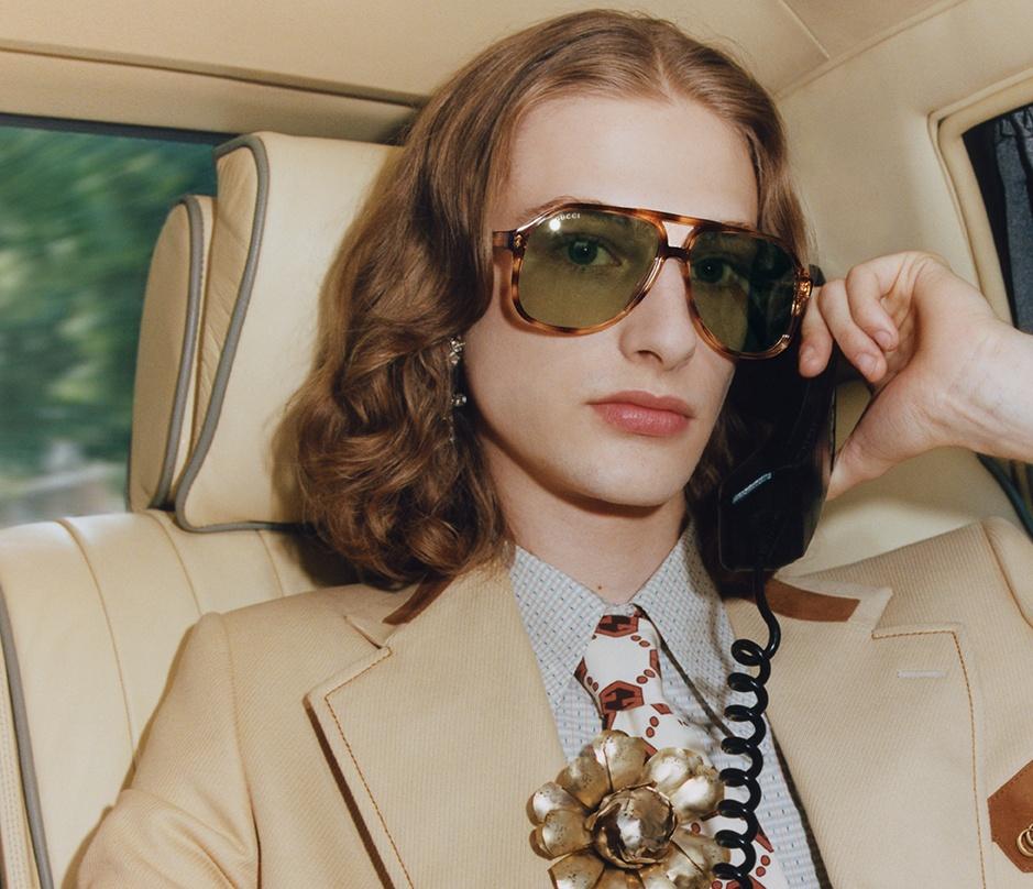 Gucci исследуют разные эпохи и города в новом кампейне аксессуаров