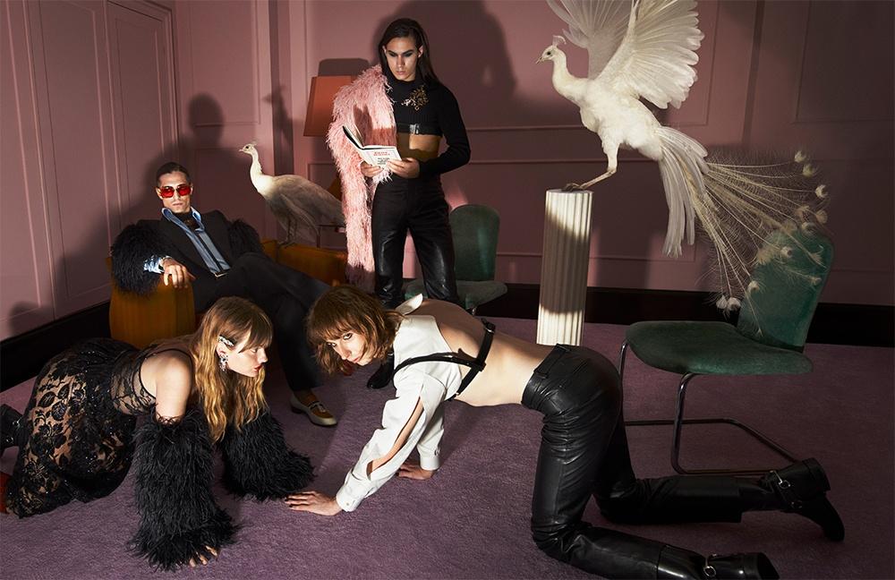 Музыканты группы Måneskin снялись в новом кампейне от Gucci