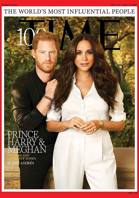 Принц Гарри и Меган Маркл появились на обложке известного глянца