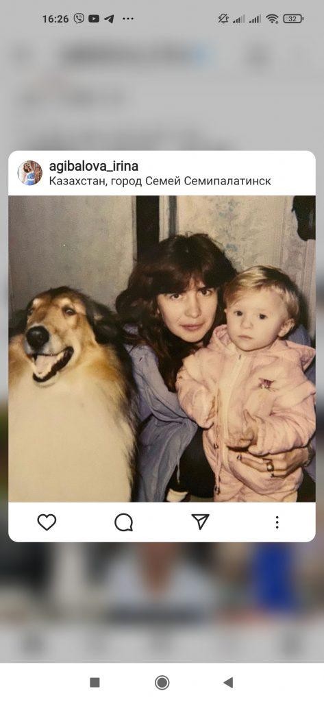 Фото из архива: Ирина Агибалова показала, как выглядела в 27 лет