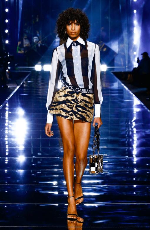 Где прошлое встречается с будущим: смотрите в новой линейке Dolce&Gabbana