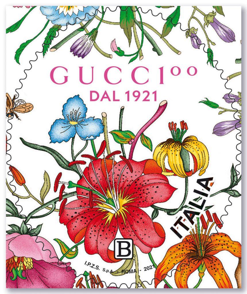 В честь своего 100-летия Gucci выпустили собственную почтовую марку