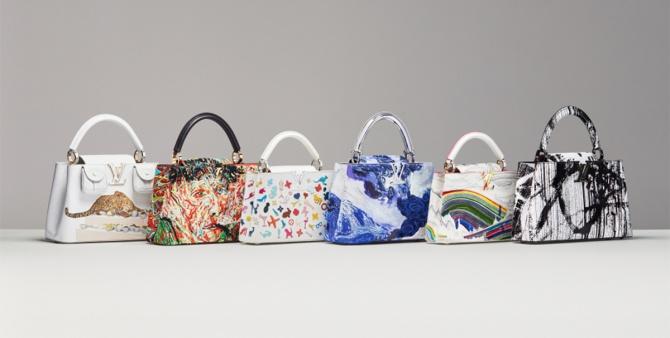 6 современных художников украсили сумки Louis Vuitton своими рисунками