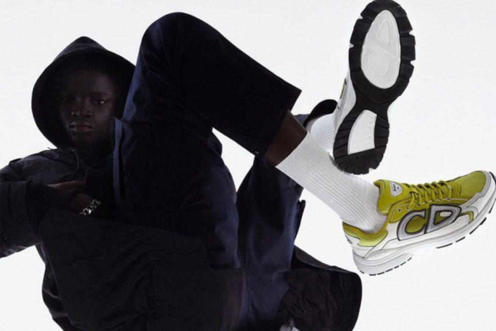 Ким Джонс вдохновился бегом и создал новые кроссовки для Dior